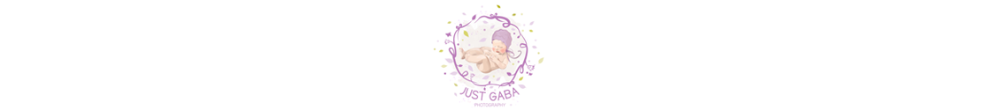 JustGaba photography logo